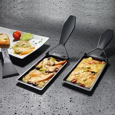 Barbeclette, 2er-Set oder 6er-Set - Das Raclette-Pfännchen für den Grill.