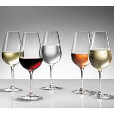 """""""Perfekter Trinkgenuss für alleRot- und Weißweine, Schaumweine und Brände. Ein Glas für alle Fälle empfehle ich den Weinfreunden von  Pro-Idee.""""  Profi-Sommelier Peter Steger"""