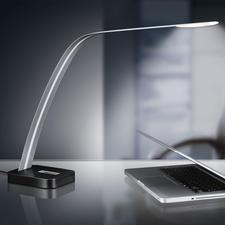 Lita Design LED-Tischleuchte - Extrem schlankes Design. Neutralweißes Licht. Ideal zum Lesen und Arbeiten.