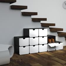 Geniale Faltboxen oder Smartes Regal - Mit wenigen Handgriffen: Schuh- oder Vorratsschrank, Schreibtisch-Container, Badregal, ...