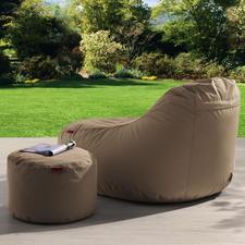Besonders der komfortable Liegesessel ist perfekt zum Relaxen.