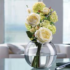 Der Passring mit 6 cm Ø Öffnung ist auch genau richtig für duftige Rosenbouquets, romantische Biedermeiersträuße, …