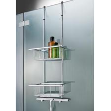 Duschkorb, Badetuchhalter oder Dusch-Einhängeregal GM5 - Selten ist die perfekte, stilvolle Lösung so einfach.