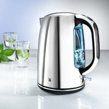 Wasserkocher Skyline - Der schnellste Wasserkocher im Test.1 l Wasser kocht in nur 140 Sek. Starke 3.000 W in edlem Cromargan®-Design.