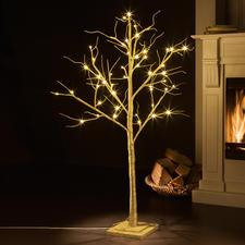 LED Deko-Baum - Romantisch leuchtende Glitzerbäume - prachtvoll wie aus dem Märchenwald. Verzaubern Ihre Räumlichkeiten.