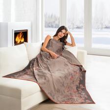 Edel-Fleece-Decke Rose - Leicht und weich wie ein Kaschmir-Plaid. Pflegeleicht wie Ihre Handtücher. Seltener Edel-Fleece mit Baumwolle.