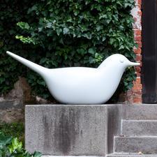 """Lichtskulptur """"Taube"""" - Imposante Illumination für Ihren Garten.Effektvolles XL-Leuchtobjekt im Wohnbereich."""