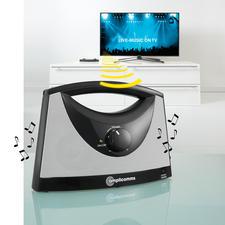 TV-SoundBox® - TV-Ton, wo Sie möchten. Kabellos. Genau in der Lautstärke, die Ihnen angenehm ist.