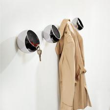 Garderobenkugel - Kleiderhaken, Utensilo und Designobjekt in einem.
