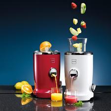 Vita Juicer - Kombiniert Zitruspresse und Saftzentrifuge. Vergeudet keinen Tropfen, keine Vitamine.