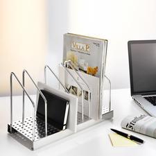 Officeflexx® Stehsammler - Stellen statt stapeln = schneller finden + schöner aufräumen.