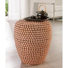 Dot Stool Copper - Ganz aktuell im Kupfer-Trend: der handgefertigte Hocker aus Hunderten Metall-Halbkugeln.