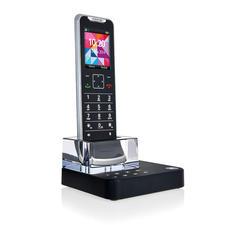 Motorola Design-Telefon IT.6T mit Anrufbeantworter - Das wohl flachste und edelste Schnurlos-Telefon der Welt.
