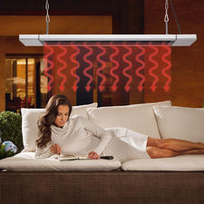 Black Heat Infrarot-Paneel - Wärmt Zonen bis zu 9 m². Sicher, sauber und schnell. Indoor und outdoor.