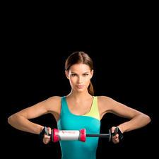 B-Shape Trainingsgerät - Effizient wie nur wenige: Ein Gerät für Drück- und Zieh-Übungen.