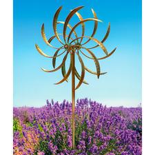 Windspiel Duett - Zwei gegenläufige Windräder werden zum magischen Blickfang.