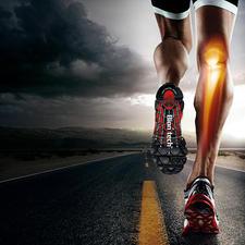 Durch die Entlastung Ihrer Gelenke laufen Sie spürbar entspannter und ermüdungsfreier.