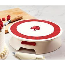 Drehbare Dekorier-Platte - Torten und Kuchen kunstvoll verzieren – jetzt so einfach wie nie.