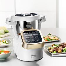 Krups Prep & Cook - (Beinah) die ganze Küche in einem genialen Gerät. Zerkleinert, mixt, rührt, knetet, mahlt, … fast von alleine.