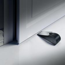 Alarm-Türkeil mit Erschütterungssensor - Einfachster, aber wirksamer Schutz vor Einbrechern. Mit 120 dB lautem Alarmton.