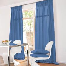 Vorhang Shantung - 1 Stück - Die Optik erlesener Shantung-Seide.  Aber lichtunempfindlich und pflegeleicht.