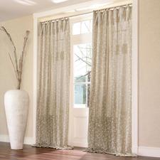 Vorhang Papillon - 1 Stück - Die Optik reinen Leinens. Aber weicher, fließender und leichter zu bügeln.