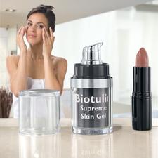 Biotulin Antifalten-Gel - Das pflanzliche Biotulin-Gel ermöglicht sichtbar jüngeres Aussehen in nur 60 Minuten.