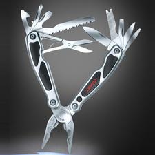 Coast® Multi-Tool LED140 - 14 Werkzeuge und eine LED mit bis zu 3 m Leuchtweite – in einem kompakten Tool.