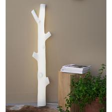 Baumstamm-Leuchte - Fast wie aus dem Zauberwald. Scheint von verwunschenem Licht durchflutet. Ein Blickfang in jedem Raum.