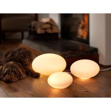 Villeroy & Boch Leuchtkiesel - Licht von unten – fast immer viel schöner als von der Zimmerdecke.