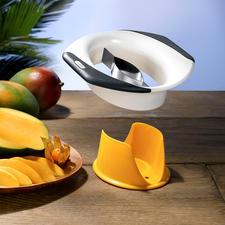 Zyliss® Mangoschneider/-schäler - Mangos entkernen, schälen, teilen, ... einfach, schnell und sauber wie nie.