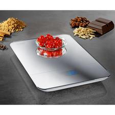 Design-Küchenwaage - Edel verspiegelte Küchenwaage wiegt bis zu 10 kg (statt nur 3-5 kg)