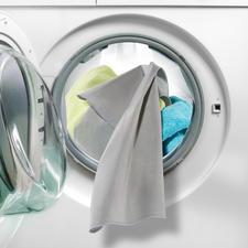 Aktivsilber beseitigt bis zu 99,9 % Bakterien auf Ihrer Wäsche.