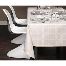 Tischdecke, Weiß