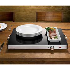 Gastroback Profi-Warmhalteplatte XXL - Auf enormen 2.220 cm² Heizfläche halten Sie spielend mehrere Speisen gleichzeitig heiß.