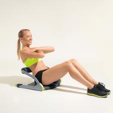 Mit Sit-up-Übungen festigen Sie die gesamte Bauchmuskulatur.