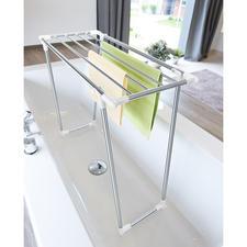 Platzspar-Wäscheständer - Mit nur 39 cm Tiefe auch ideal für kleine Räume und schmale Balkone.