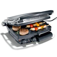 Caso Kontakt-/Tischgrill XXL - Perfekt gegrillte Steaks, Burger, Gemüse, ... direkt aus Ihrer Küche. Jetzt spielend auch für viele Gäste gleichzeitig.