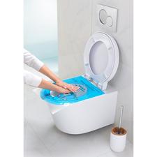 """Pump & Clean Abflussfrei-Folie, 12er-Set - Geniale Erfindung """"bläst"""" verstopfte Toiletten ruck-zuck frei. In Sekunden."""