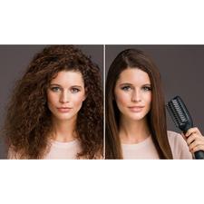 e-styler Glättbürste - 50 % Zeitersparnis. Und schonend geglättetes Haar mit seidigem Glanz.