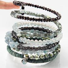 langani Ethno-Spiralarmband - 7 Armbänder in einem. Das spektakuläre Spiralarmband von langani. In Deutschland handgefertigt.