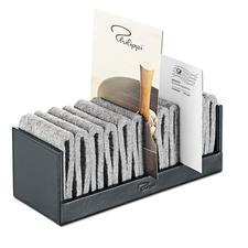 Flexo Filz-Zettelhalter - Aus echtem Leder und anschmiegsamem Filz. Hält alles von Papieren bis zu Smartphones.