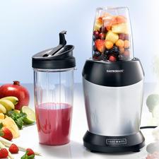 Gastroback Smoothie-Blender - Starke 1.000 W extrahieren Obst und Gemüse und holen alle gesunden Nährstoffe heraus.