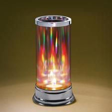 Licht aus unterschiedlichsten Lichtquellen, Sonnenlicht, LED-Licht etc., wird in Spektralfarben mit quantitativ unterschiedlichen Farbanteilen zerlegt)