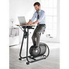 """Design-Fahrradtrainer """"Citta"""" - Stylisch genug fürs Wohnzimmer. Praktisch genug fürs Büro."""