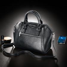 Handtasche 2.0 - Die Digitale Revolution der Handtasche: mit Bluetooth-Vibrationsalarm und LED-Innenbeleuchtung.