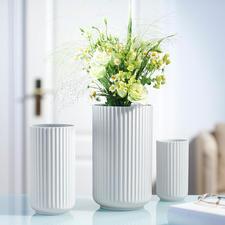 Lyngby Porzellanvase - Weiß, schlicht, schön: die Lyngby-Vase der 30er-Jahre – jetzt neu aufgelegt.