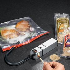 Smoke-Box - Zart geräucherte Speisen – einfach und schnell wie nie. Die kompakte Smoke-Box für den Küchengebrauch.