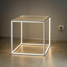 Eingeschaltet eine stimmungsvolle Lichtquelle.