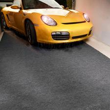 Quick-Dry-Garagenmatte - Trockene Garage – sauberes Haus.